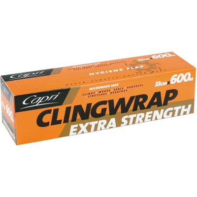Food Wraps - Cling Wrap, Aluminium Foil, Baking Paper